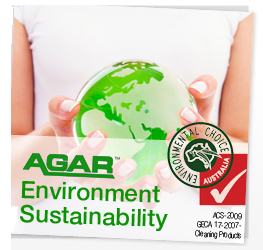 Agar Cleaning Products green