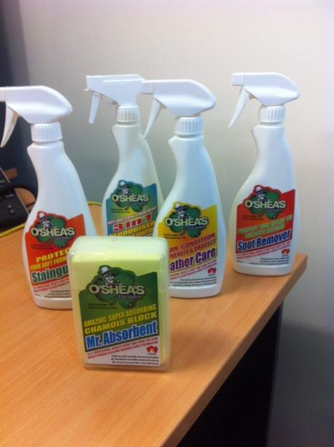 O'Shea's cleaning products