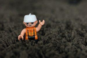 Carpet Repair lego man