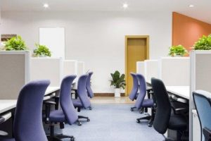Clean Commercial Business Office