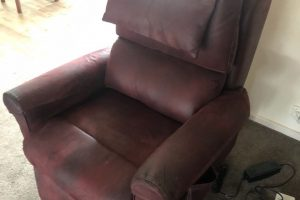 Leather restoration upholstery cleaning