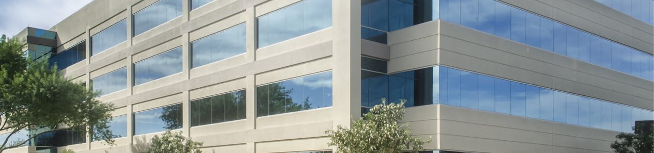 clean exterior of Office & Commercial building